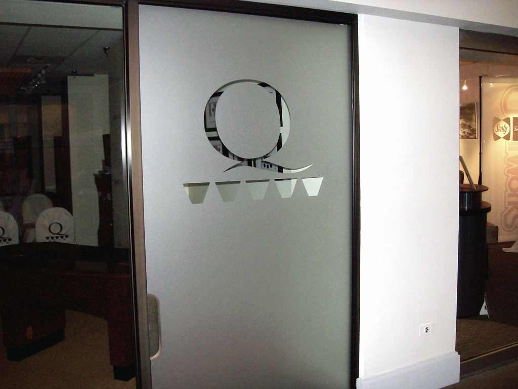 Le Meilleur Frosted Glass Vinyl Graphics Privacy Film Impact Signs Ce Mois Ci