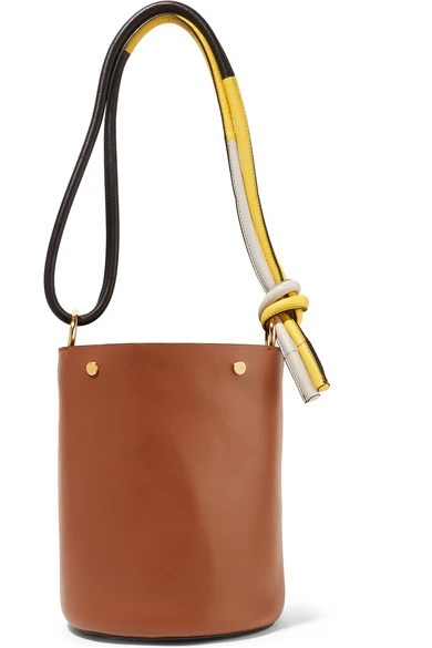 Le Meilleur Marni Leather Bucket Bag Net A Porter Com Ce Mois Ci