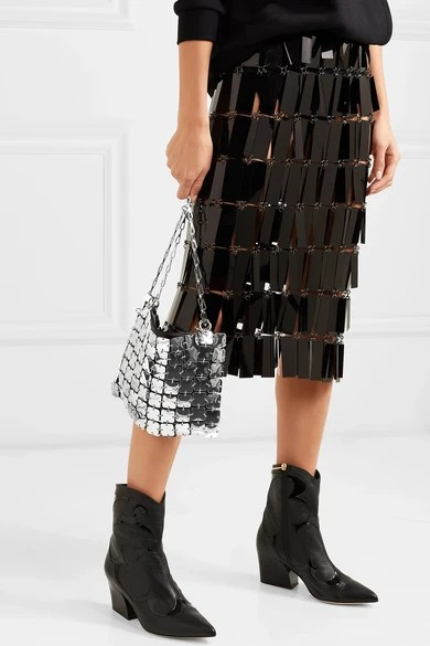 Le Meilleur Paco Rabanne Square 1969 Chainmail And Leather Shoulder Ce Mois Ci