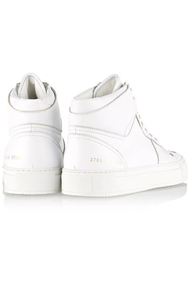 Le Meilleur Common Projects Bball Leather High Top Sneakers Net A Ce Mois Ci