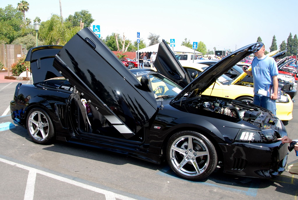 Le Meilleur Ford Mustang Saleen Convertible With Lambo Doors Ce Mois Ci
