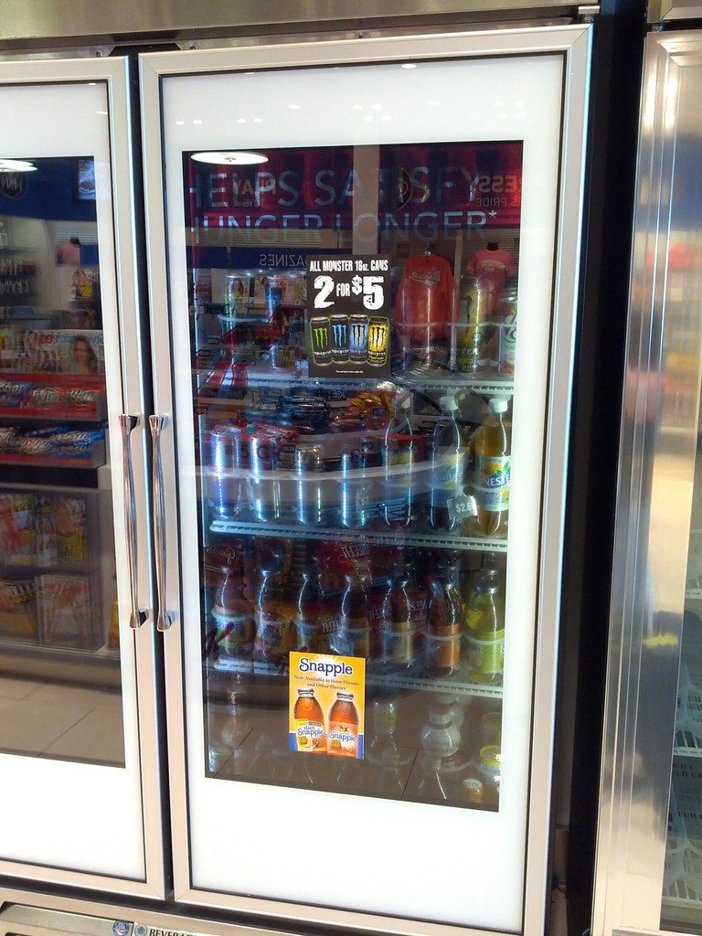 Le Meilleur This Transparent Refrigerator Door Is An Lcd Screen Flickr Ce Mois Ci