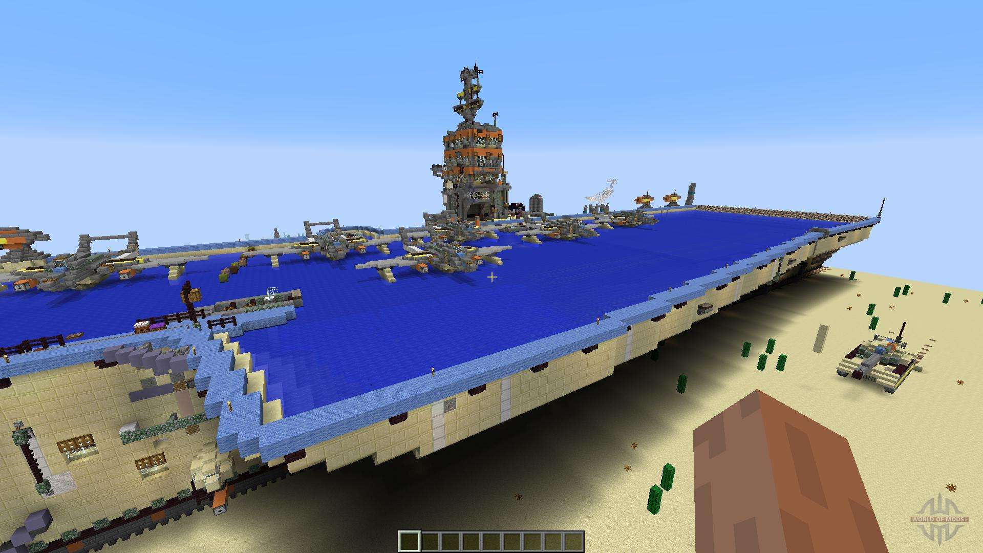 Le Meilleur Opposite Aircraft Carrier For Minecraft Ce Mois Ci
