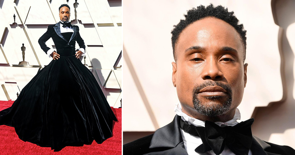 Le Meilleur Pose Star Billy Porter Shuts Down Oscars Red Carpet In Ce Mois Ci