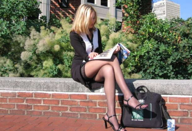 Le Meilleur Awesome S*Xy Legs Woman Creepshot S*Xy Candid Girls With Ce Mois Ci