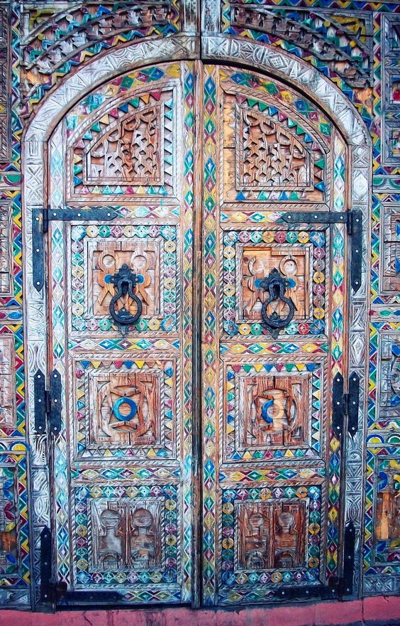 Le Meilleur Morocco Doors And Look At On Pinterest Ce Mois Ci