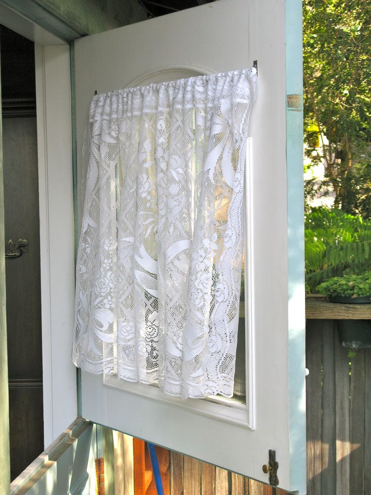 Le Meilleur Lace Curtain Door Small Hall Window Products I Love Ce Mois Ci