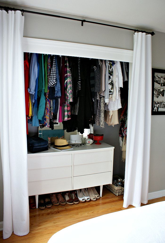 Le Meilleur 25 Best Ideas About Closet Door Curtains On Pinterest Ce Mois Ci