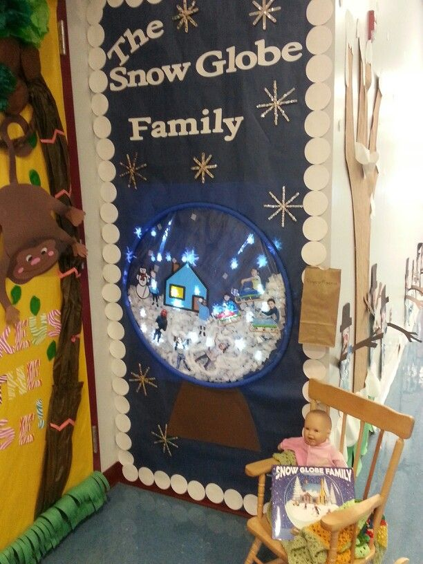 Le Meilleur The Snow Globe Family Door Decorating Competition We Ce Mois Ci