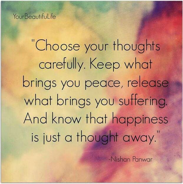 Le Meilleur Happiness Is Just A Thought Away Keep What Brings You Ce Mois Ci