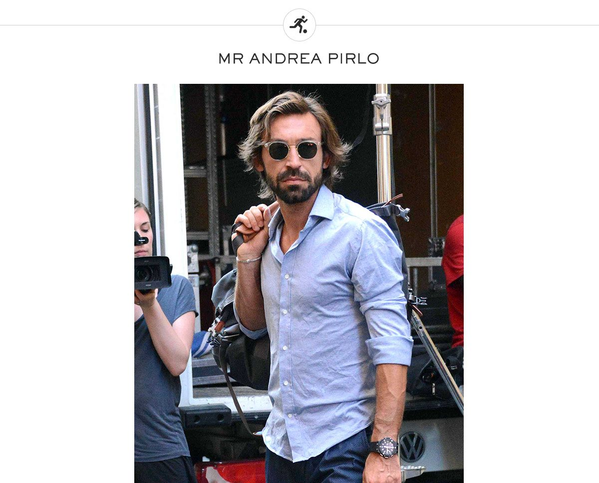Le Meilleur Andre Pirlo Winning In Style Style Icons The Journal Ce Mois Ci
