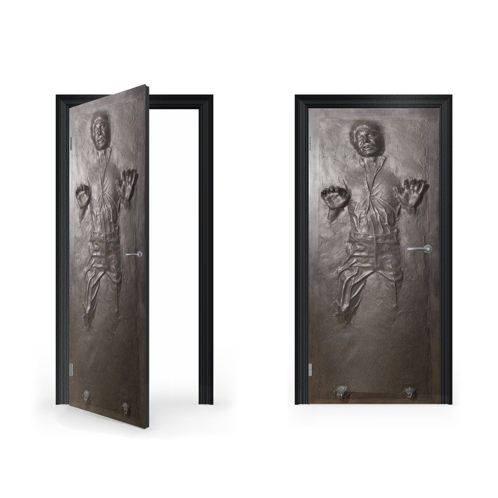 Le Meilleur Han Solo In Carbonite Vinyl Sticker For Door Vinyl Ce Mois Ci