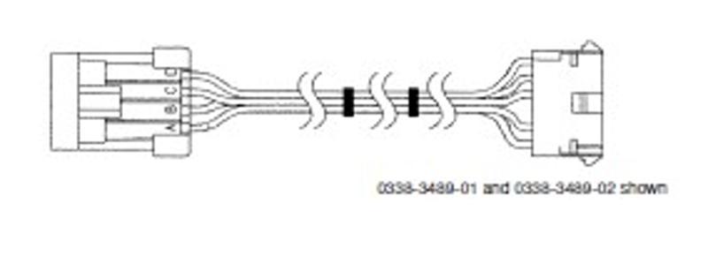 PT# 338-3490-02 30' Wiring Harness-Quiet Diesel Generators