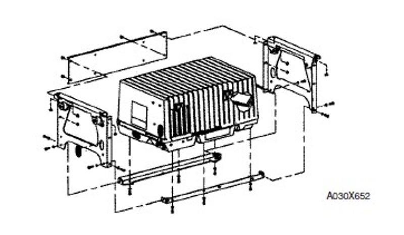 PT# A030X652 KY MicroQuiet Series Underfloor Mounting Kit