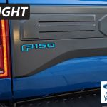 2017 2020 Ford Raptor F 150 Rear Emblem Reflective Overlay Decal Vinyl Graphics Rocky Mountain Graphics