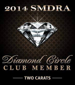 2 carat SMDRA Diamond Circle Award