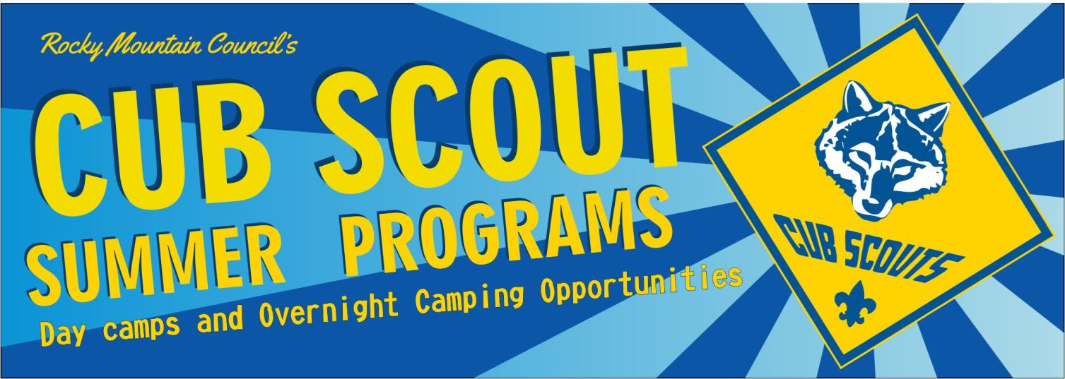 Cub Scouts can participate in day camps or an overnight family camp.