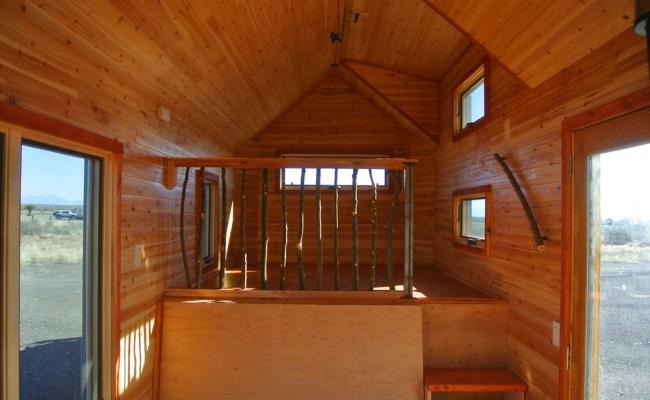 A River Runs Through It Custom Gooseneck Tiny House