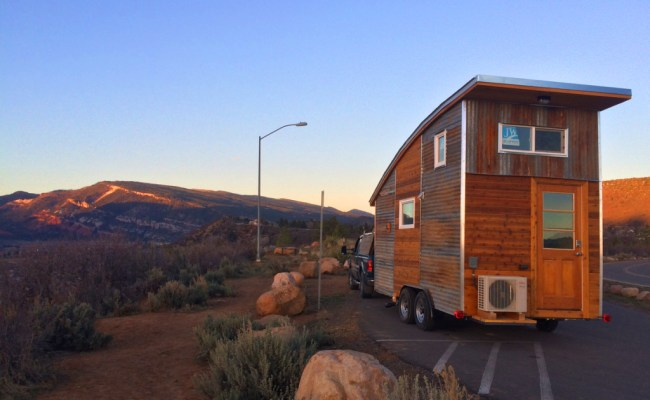16 Foot Curved Roof Tiny House Rocky Mountain Tiny Houses