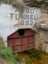 ENtrance to the Ago Tunnel
