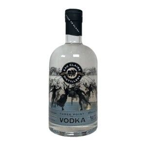 Eau Claire Distillery Three Point Vodka
