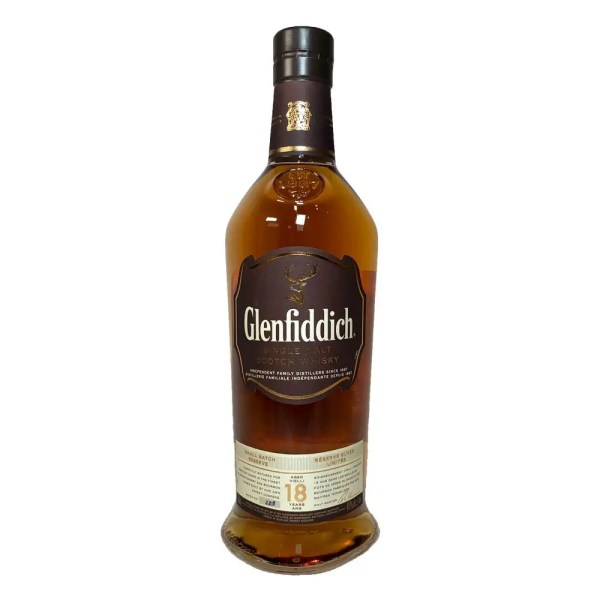 Glenfiddich 18 year Single Malt Scotch Whisky