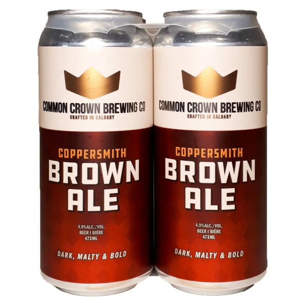 Common Crown Brown 4 can