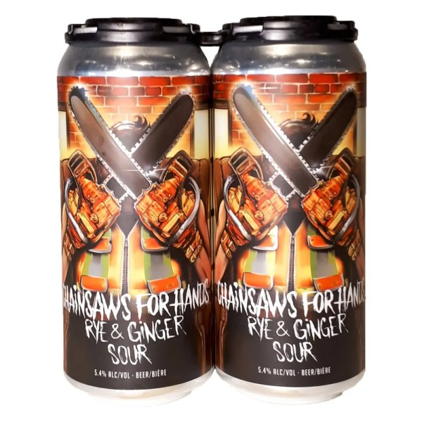 Town Square Chainsaw For Hands Rye & Ginger Sour