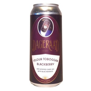 Dageraad Velour Toboggan Blackberry