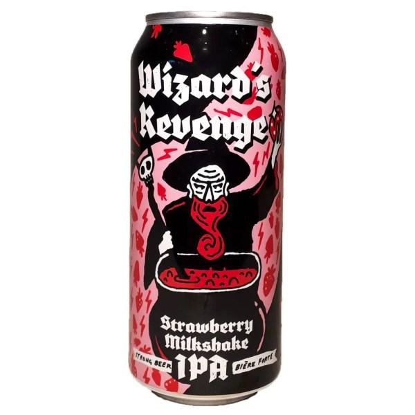 New Level Wizards Revenge Strawberry Milkshake IPA