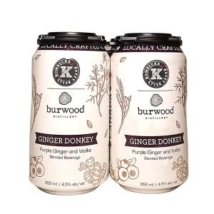 Burwood Ginger Donkey Kombucha