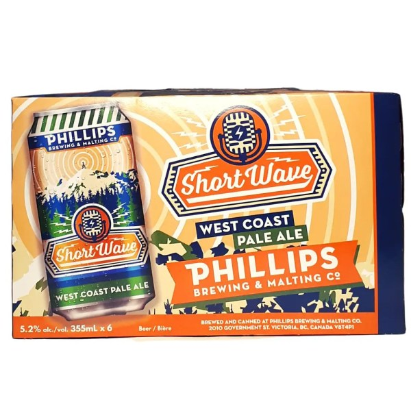 Phillips Short Wave West Coast Pale Ale