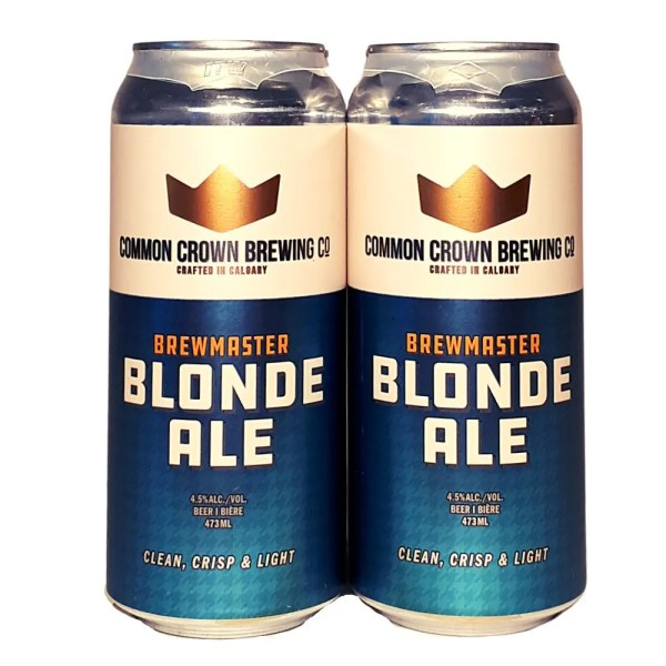 Common Crown Brewmaster Blonde Ale