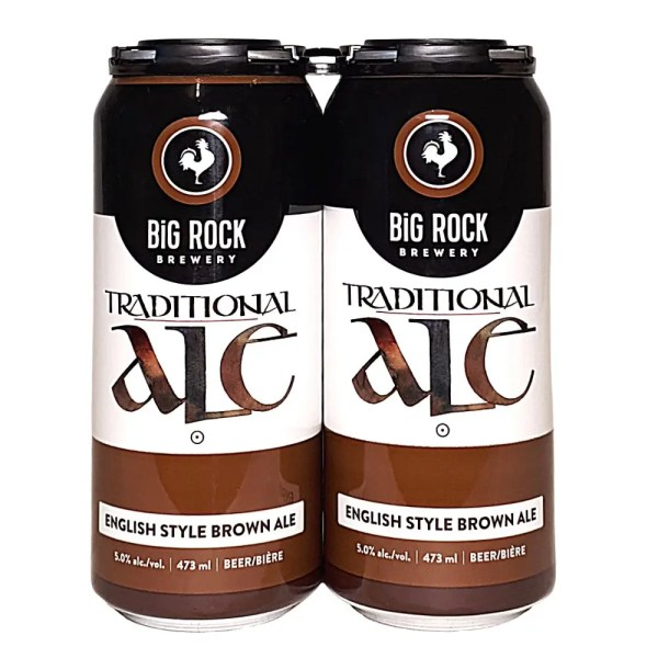 Big Rock Traditional Ale English Style Brown Ale