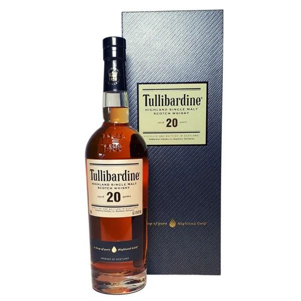 Tullibardine 20 year Highland Single Malt Scotch Whiskey