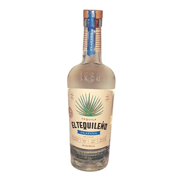 El Tequileno Platino Blanco Tequila