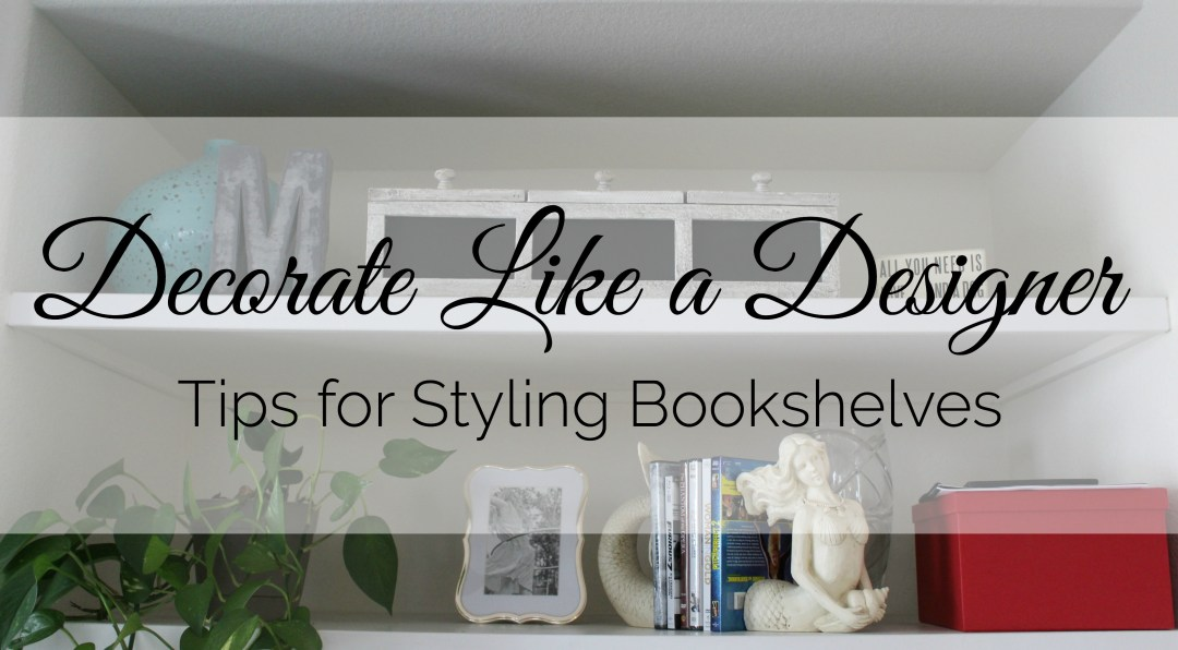 Tips for decorating bookshelves like a pro.