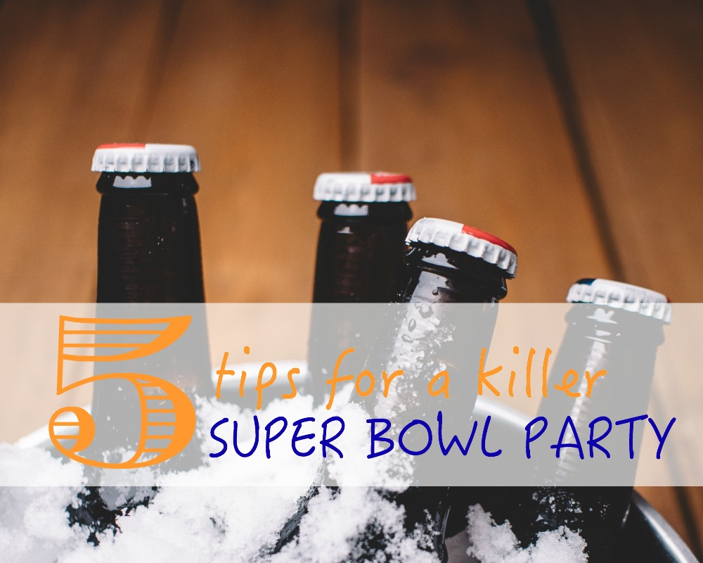 Five tips for keeping your party snacks fresh throughout the Super Bowl.