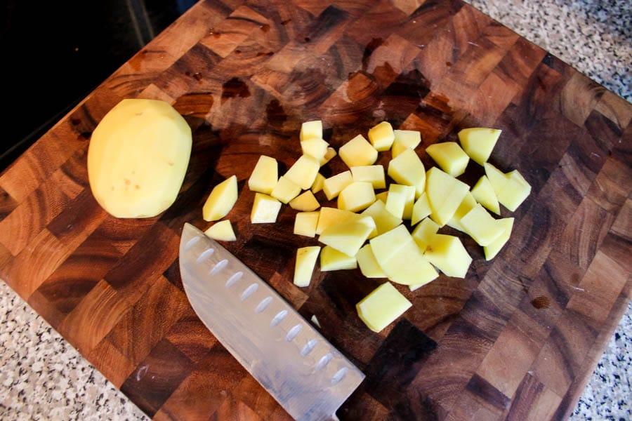 Sweet Hot Mustard Potato Salad Recipe