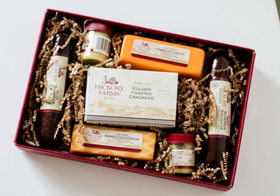 The red ribbon treat gift set is the perfect hostess gift for anyone who loves wine