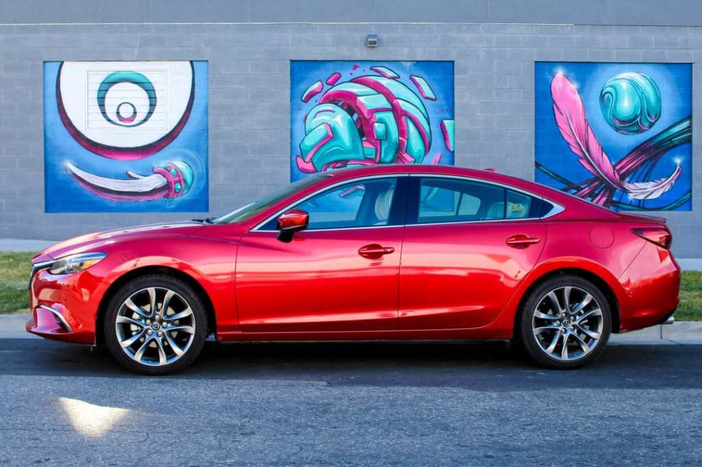 Mazda6 is the perfect car for family holiday time