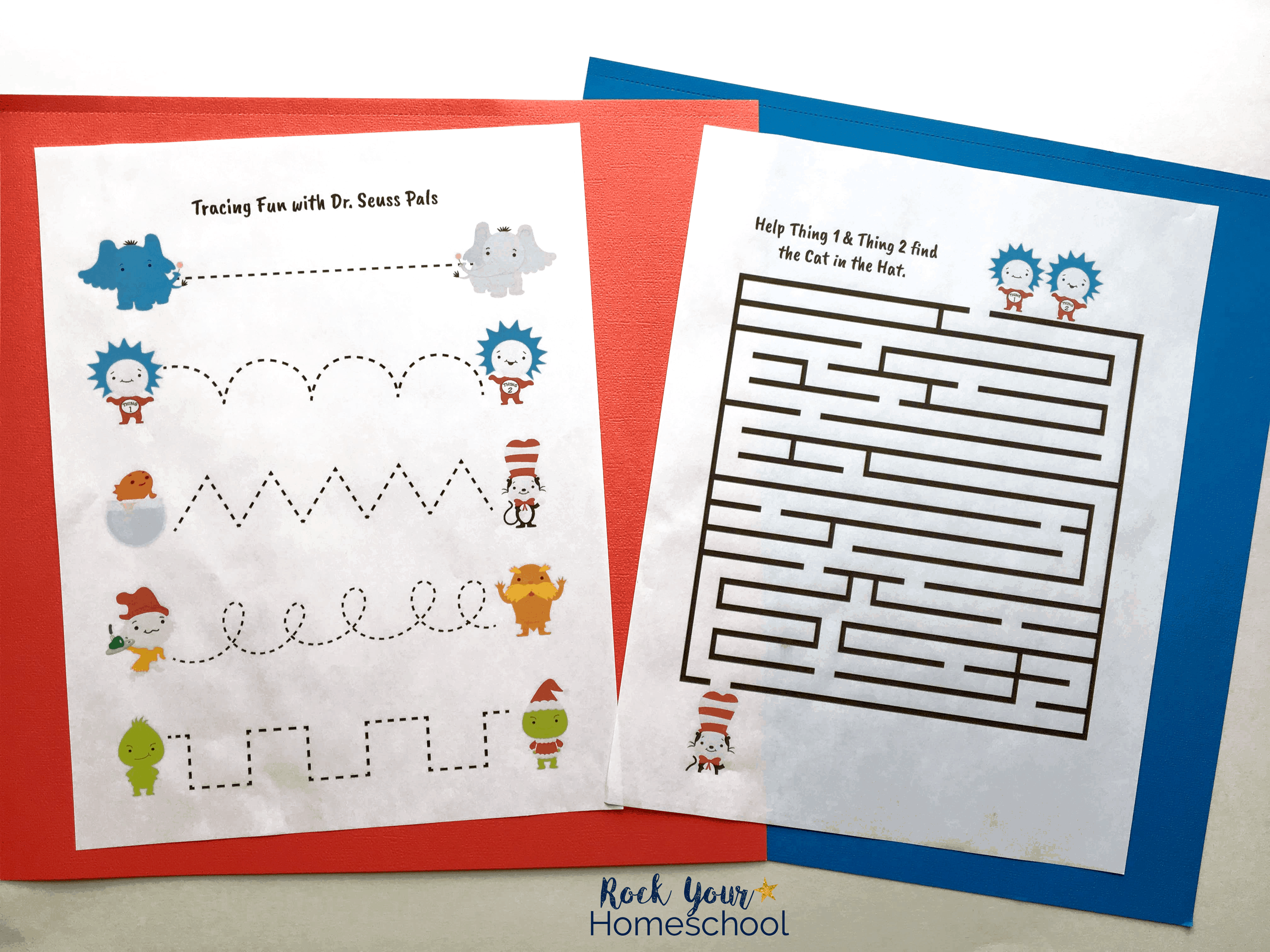 Free Dr Seuss Printable Pack For Learning Fun