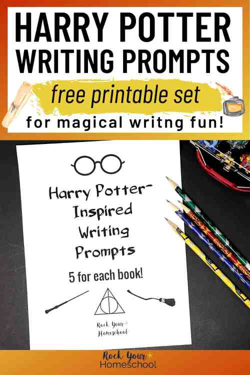 small resolution of Free Printable Pack of Harry Potter-Inspired Writing Prompts - Rock Your  Homeschool