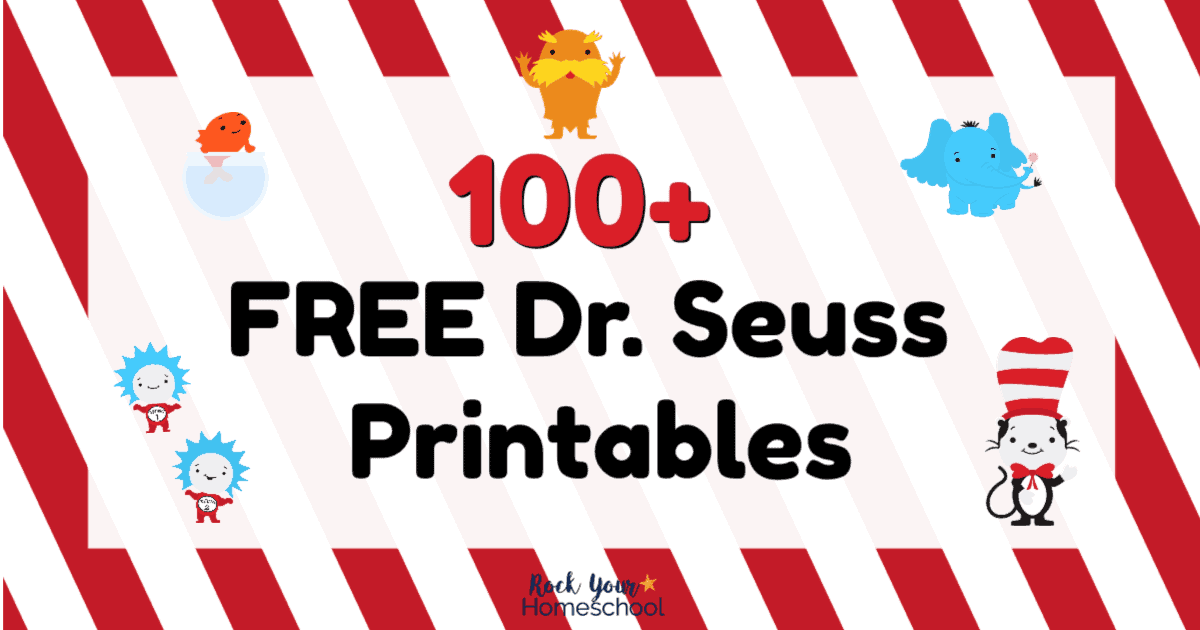 100 Free Dr Seuss Printables Activities For Fantastic Fun Rock Your Homeschool