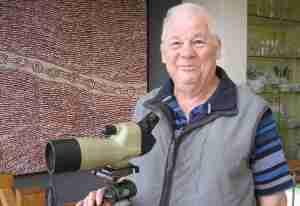 Phillip Jackson is Bird Watching in Retirement