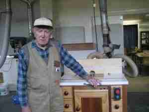 George Young is Woodworking in Retirement