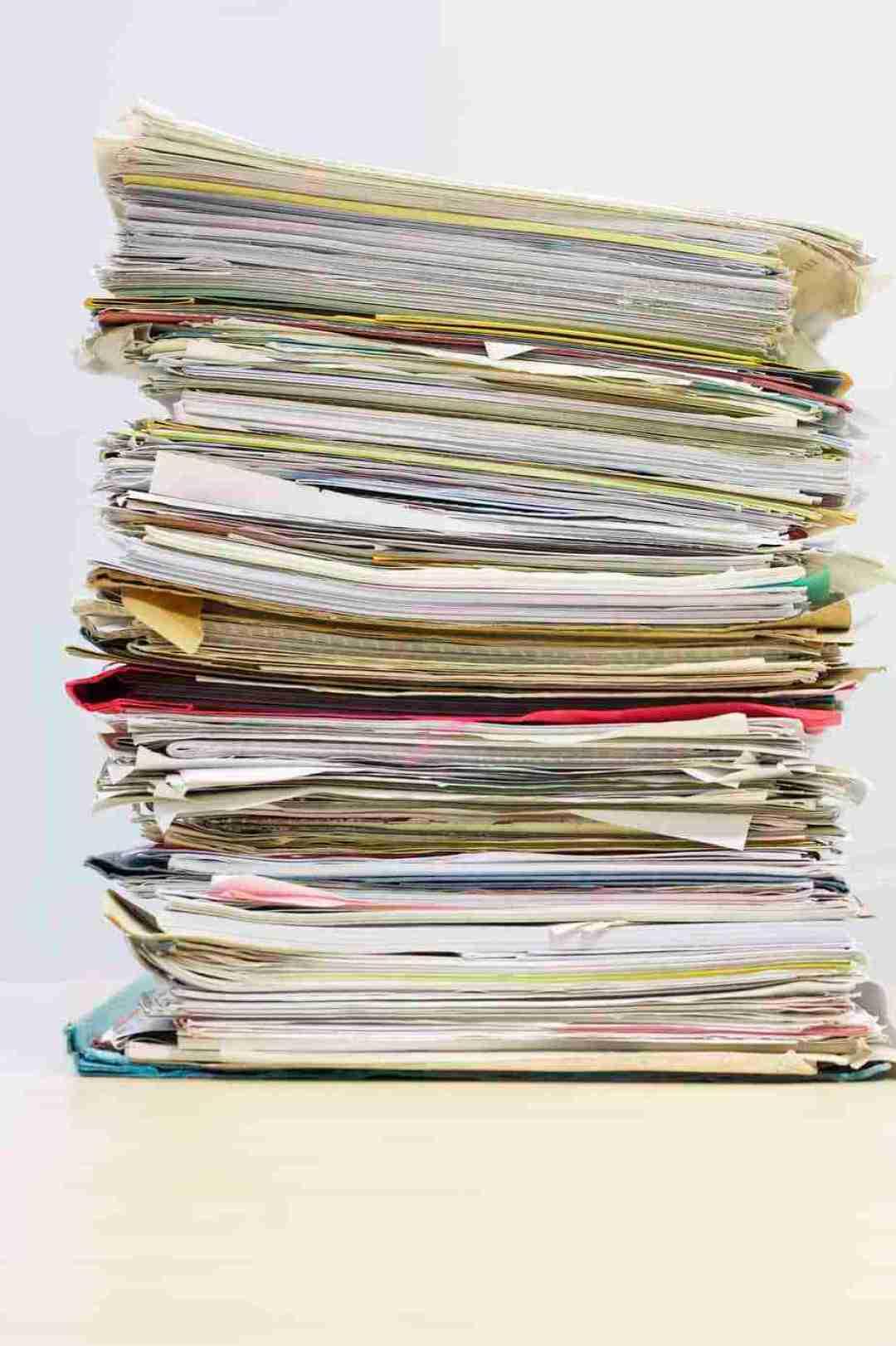 parent's medical documents
