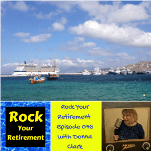 Photo about Cruising in Retirement with Donna Clark