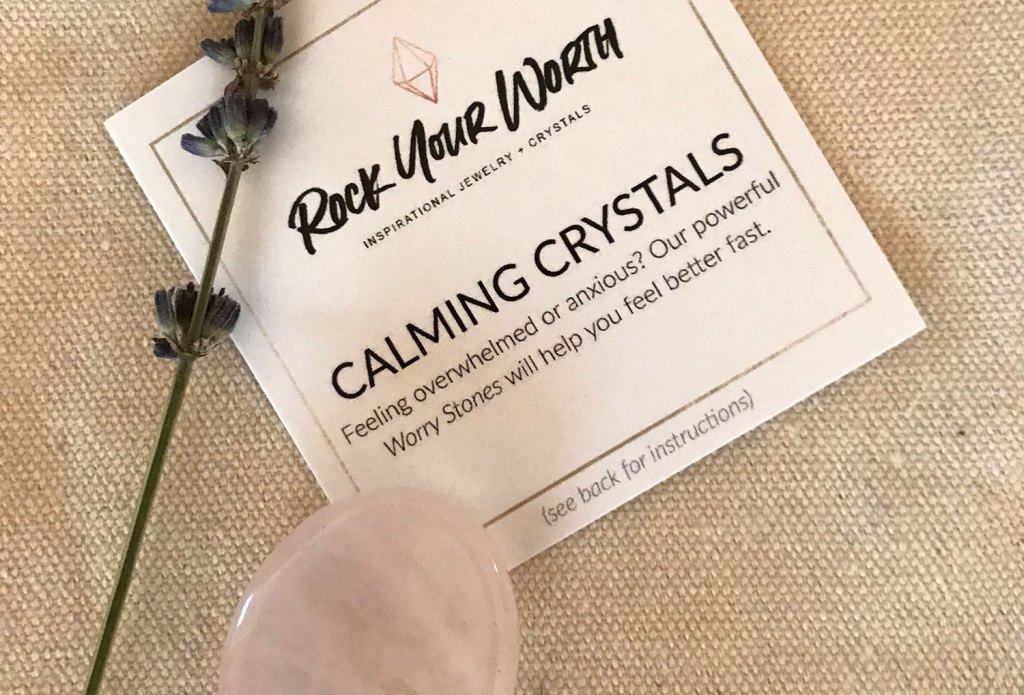 Calming Crystals Worry Stones