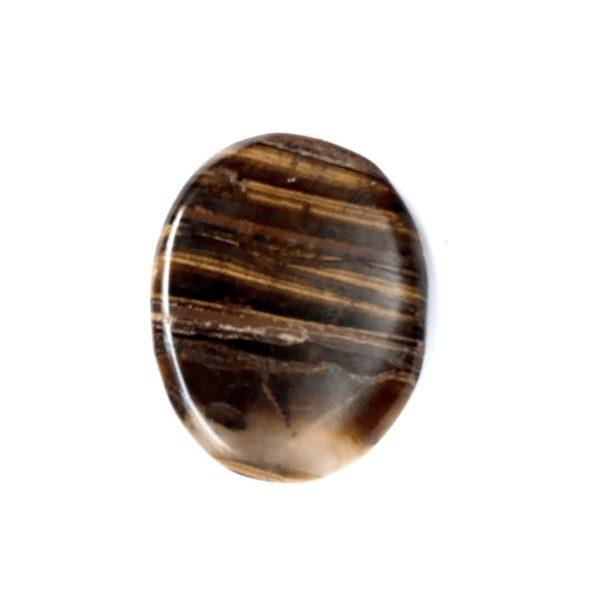 Tiger's Eye Worry Stone